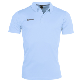 Lichtblauwe Hummel polo Corporate