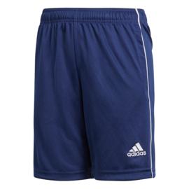 Blauwe korte Adidas broek Core 2018