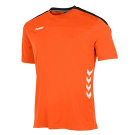 Oranje Hummel Valencia shirt met korte mouwen