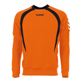 Hummel Teamlijn sweater Oranje junior trui