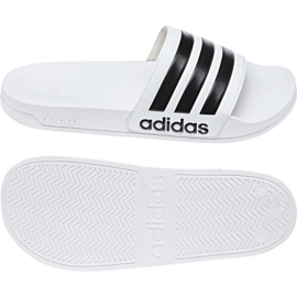 Witte Adidas badslippers