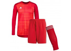 Rood Adidas keepershirt of compleet keeperstenue 2018  Adipro