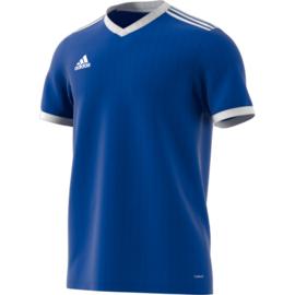 Blauw Adidas shirt junior met korte mouwen