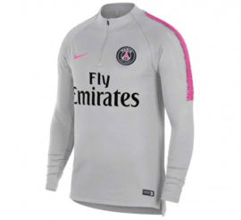 Nike PSG grijze trainingsjas / trainingstop
