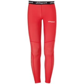 Rode thermobroek van Uhlsport