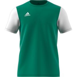 Junior groen Estro 19 Adidas shirt met korte mouwen