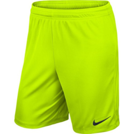 Gele Nike Park short
