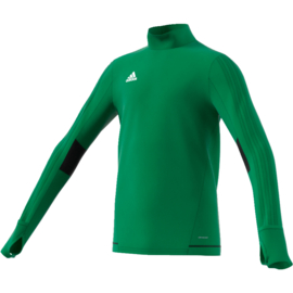 Groene Adidas Tiro 17 sweater junior