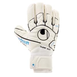 Witte keepershandschoenen Uhlsport met rolvinger