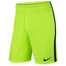Nike league knit gele voetbalbroek