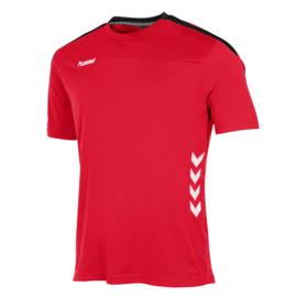 Rood Hummel Valencia shirt met korte mouwen