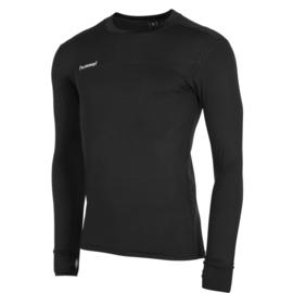 Hummel thermo shirt zwart met lange mouwen