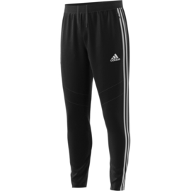 Zwarte Adidas trainingsbroek met witte strepen TIRO 19