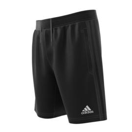 Korte zwarte broek Adidas met zwarte strepen Tiro 17