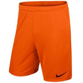 Oranje Nike Park short