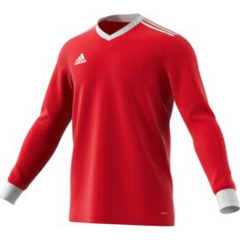Rood Adidas shirt met lange mouwen Tabela