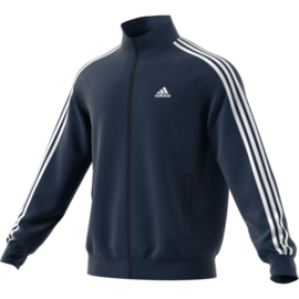 Blauwe essential Adidas trainingsjas