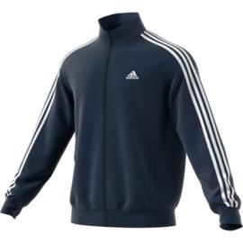 Blauwe essential Adidas trainingsjas