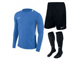 Blauw Nike keeperstenue junior