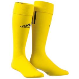 Gele Adidas voetbalsokken