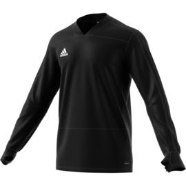 V Hals zwarte Adidas condivo 18 trui sweater
