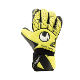 Uhlsport keepershandschoenen Supersoft Bionik geel