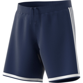 Sportbroek blauw Adidas met witte Adidas strepen Regista 18