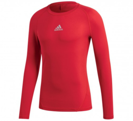 Adidas thermoshirt  rood lange mouw