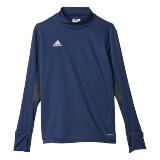 Blauwe Adidas Tiro 17 sweater junior