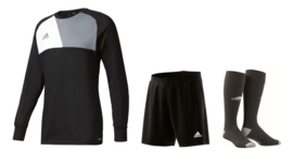 Adidas Assita junior keeperstenue zwart