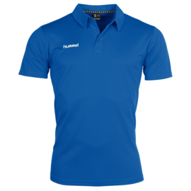 Blauwe Hummel polo Corporate