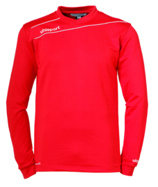 Uhlsport sweater rood