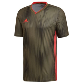 Adidas Tiro 19 goudkleurig shirt korte mouw