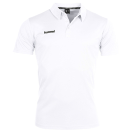 Witte Hummel polo Corporate