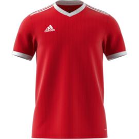 Rood Adidas shirt junior met korte mouwen