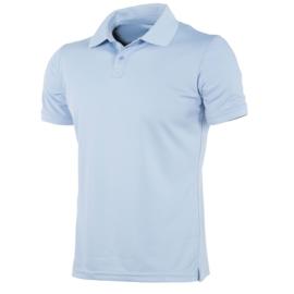 Lichtblauwe Hummel polo junior