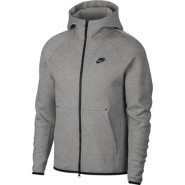 Nike Tech fleece hoody grijs