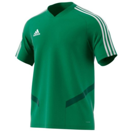 Adidas Tiro 19 junior training jersey groen shirt korte mouw