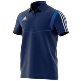 Adidas Tiro 19 blauwe polo