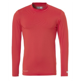 Rood ondershirt / thermoshirt junior en senior Uhlsport