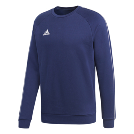 Adidas sweater blauw Core 18