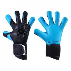2 paar Blauw zwarte Tophandschoenen van Elite NEO Aqua met 20% korting