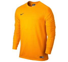 Nike keepershirt geel