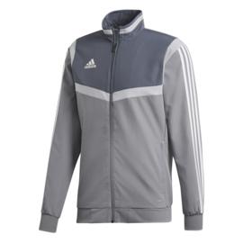 Grijze Adidas TIRO 19 trainingsjas