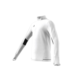 Witte Adidas Tiro 17 sweater junior