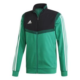 Groene Adidas TIRO 19 trainingsjas