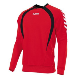 Hummel Teamlijn sweater rood junior