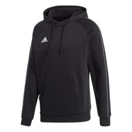 Zwarte Adidas hoody met capuchon Core 18