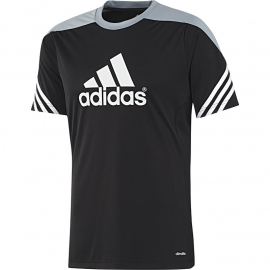 Adidas trainings shirt zwart