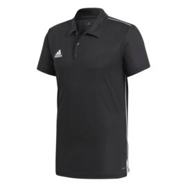 Zwarte Adidas polo Core 18
